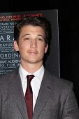 LOS ANGELES - OCT 6:  Miles Teller at the