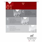 Modern Abstract Banner Business Infographic