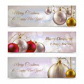 Christmas banners horizontal