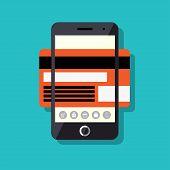 Mobile payment process concept