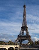 Eiffel Tower, View From The Embankment