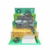 Australian Dollar Staircase Origami