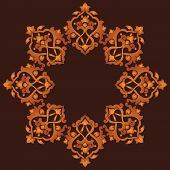 Artistic Ottoman Pattern Series Sixty Three