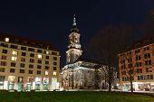 Kreuzkirche In Dresden