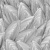 Seamless, Vector, Abstract, Contour Pattern