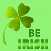 Be Irish