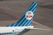 Vintage boeing from the klm.