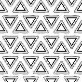 Aztec seamless pattern.