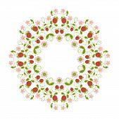Circular Ornament Berries