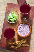 Bolivian Purple Corn Drink Called Api