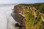 View On The Ocean From The Cliffs Of Pura Luhur Uluwatu, Bali