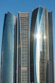 Etihad Towers In Abu Dhab