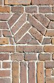 Brick wall pattern vintage