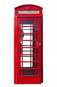 Red Telephone Booth Cut Out