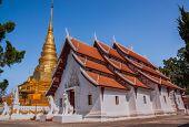 Wat Phra That Chae Haeng, Nan Province, Thailand.