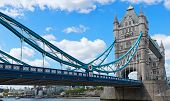 Architectural landscape of Tower Bridge