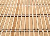 Bamboo straw background mat