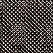 Metal lattice background
