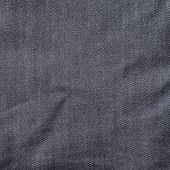 Crumpled jeans cloth texture