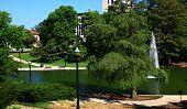 Mirror Lake On The Ohio State Campus