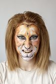 Face Painting Lion