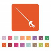 picture of rapier  - The sword icon - JPG