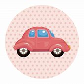 pic of transportation icons  - Transportation Car Theme Elements - JPG
