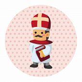 stock photo of nun  - Pastor And Nun Theme Elements - JPG