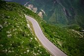 picture of armenia  - Photo of the  Summer mountain road - JPG