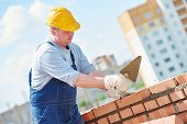 foto of trowel  - construction worker - JPG