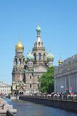 pic of sankt-peterburg  - church of savior on Spilled Blood in St - JPG