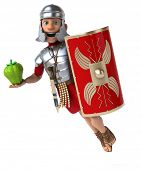 foto of legion  - Roman soldier - JPG