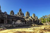 picture of buddhist  - Bayon  - JPG