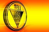 Gold metal nineteen Percent sell