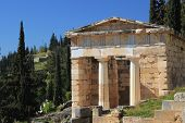 Delphi Greece archeological site