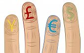 Currency Symbol Fingerprints