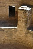 Detail Of A Kiva