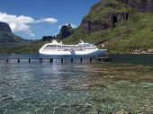 Ship In Tahiti