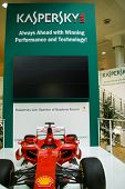Hannover, Germany - March 5, 2011: Stand Of The Kaspersky Lab In Cebit Computer Expo, Hannover, Germ