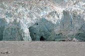 stock photo of brothel  - Photo taken at the Hubbard Glacier of an Ice Cave - JPG