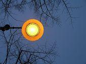 Street Light In Reggio Emilia