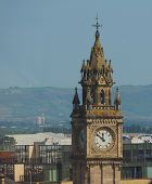 Albert Clock In Belfast poster