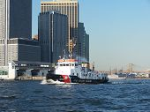 Us Coast Guard Boat Skyline