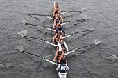 University Of California - Berkeley races in the Head of Charles Regatta