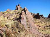 Paisaje en Hayu Marca, Perú