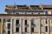 arcada de San lorenzo, Milão
