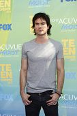 LOS ANGELES - AUG 7: Ian Somerhalder arrives at the 2011 Teen Choice Awards held at Gibson Amphithea
