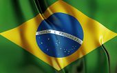 Brazilian flag, south america, country 2014 world cup