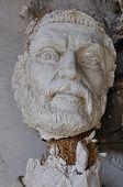 Broken Statue Head Ancient God