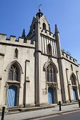 stock photo of church mary magdalene  - St Mary Magdalen church located in Bermondsey London - JPG